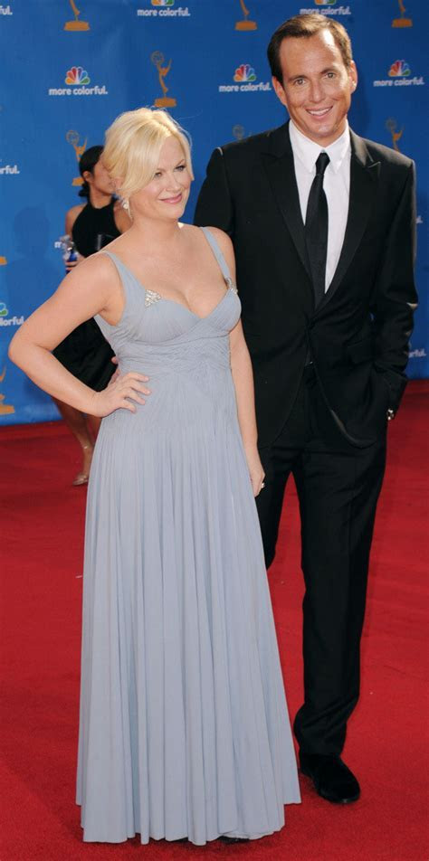 Amy Poehler & Will Arnett At Emmys Three Weeks After Baby