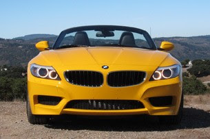 2012 BMW Z4 sDrive28i front view