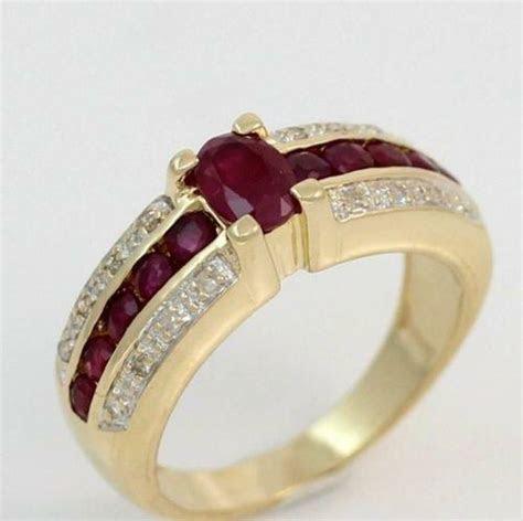 Used Ruby Rings   eBay
