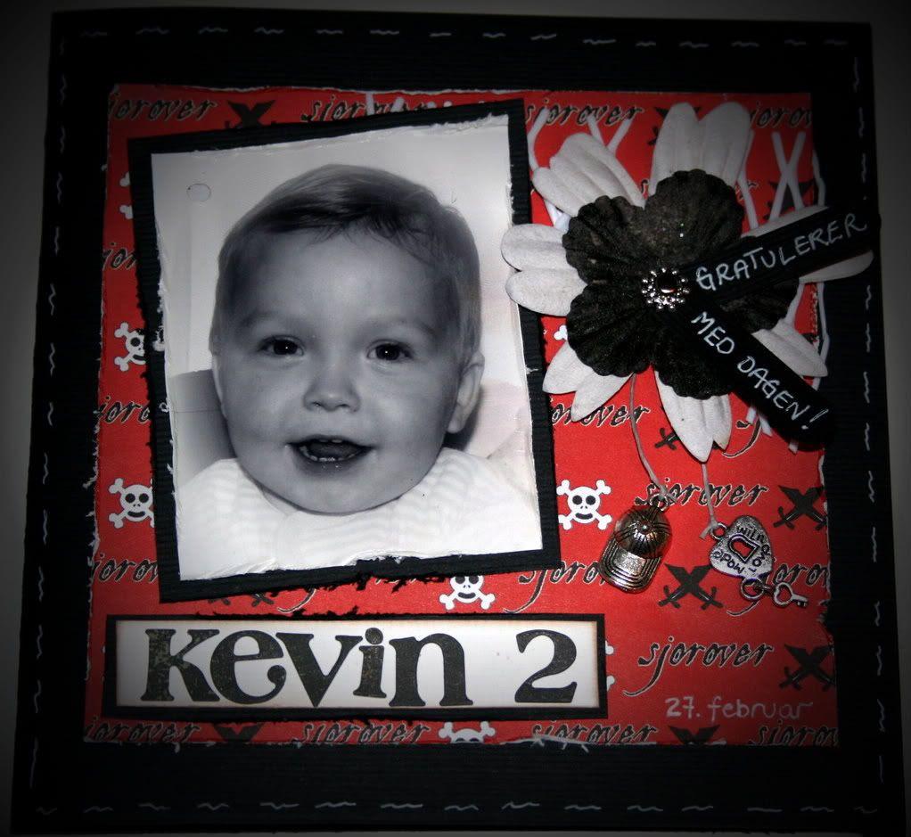 Forsiden - Kevin er 2 år