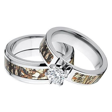 His and Her's Matching Mossy Oak Duck Blind Camo Wedding