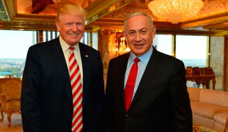 """Trump: """"Pregunten a Israel si los muros funcionan o no"""". Foto: obi Gideon/GPO"""