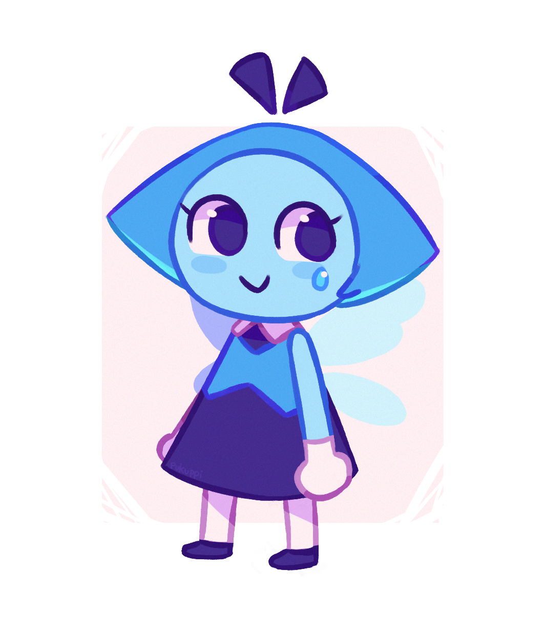 tbh?? aqua looks like an animal crossing villager kinda (its unnerving.)