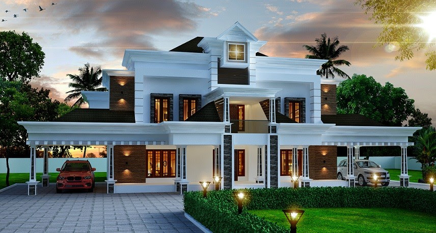 4356 Square Feet Amazing And Beautiful Kerala Home Designs Facebook