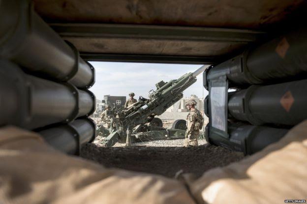 US soldiers at Bagram, 28 May 2014