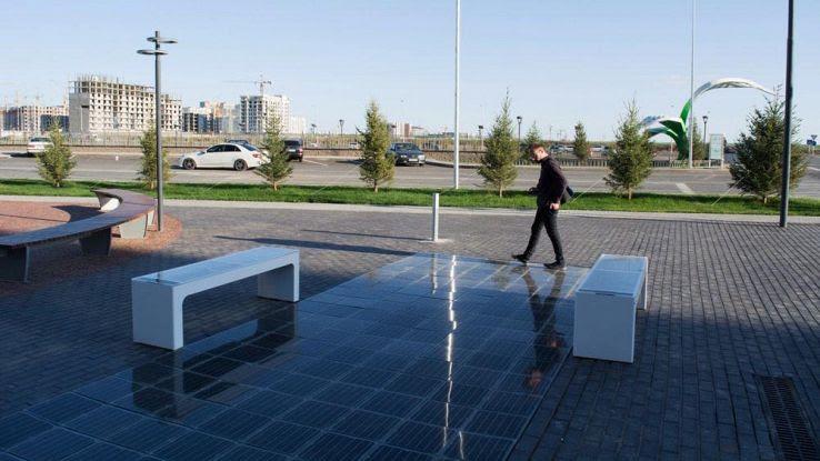 Fotovoltaico Calpestabile