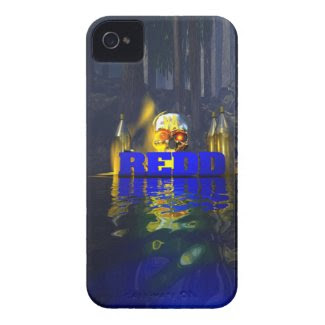 Redd Blue woods iPhone 4 Cover