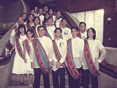 MBB 2009 College Graduation, University Theater, UP Diliman