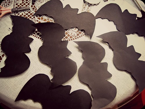 Murciélagos de papel