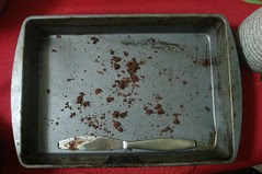 chocolate chip brownies . . . all gone