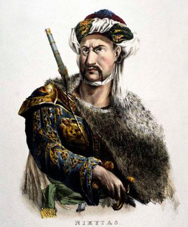 Προσωπογραφία του Νικήτα - Adam de Friedel 1827