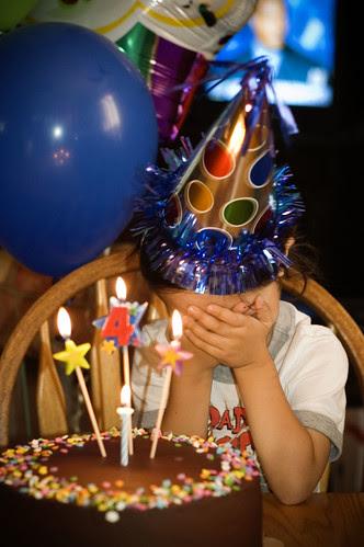 River's birthday cake - bashful