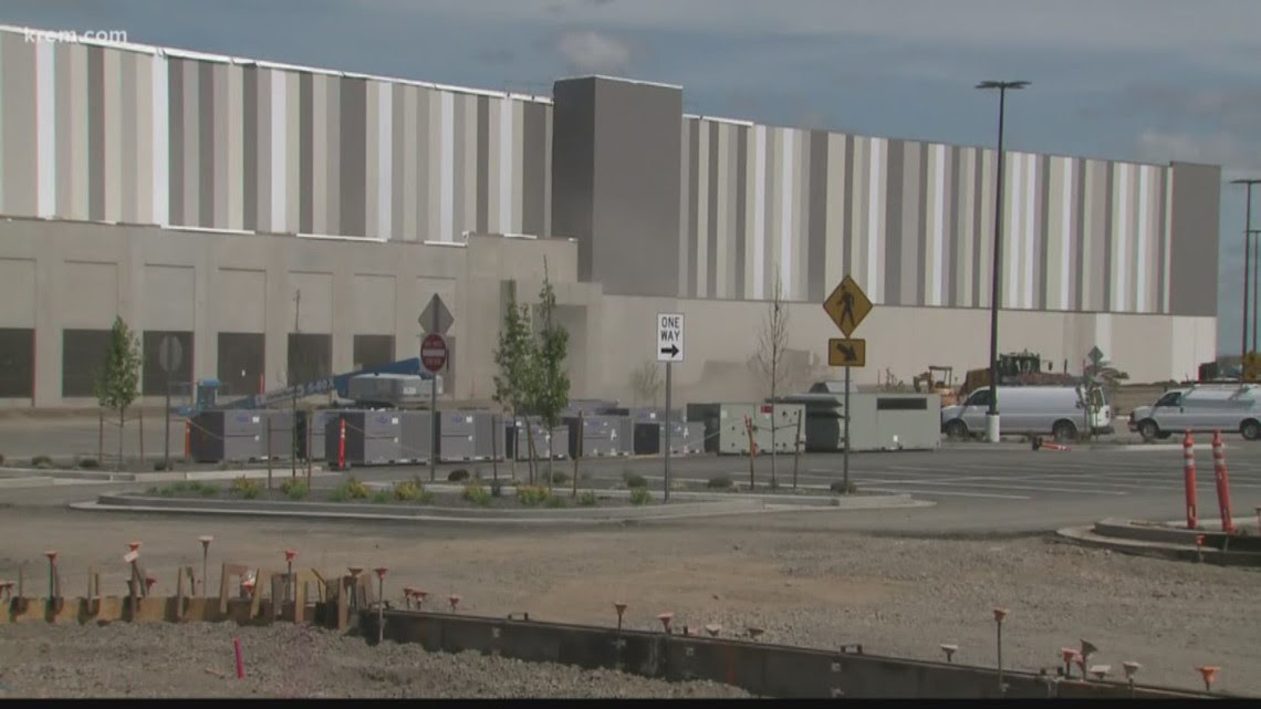 Work To Expand Geiger Blvd Near Amazon Facility Begins