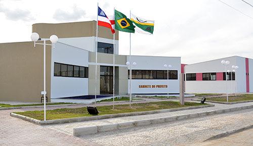 Centro Administrativo de Santaluz | Foto: Notícias de Santaluz/Arquivo