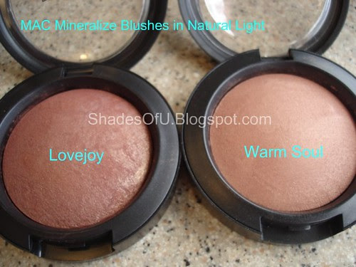 Mac Sonic Chic Mineralize Blushes The Shades Of U