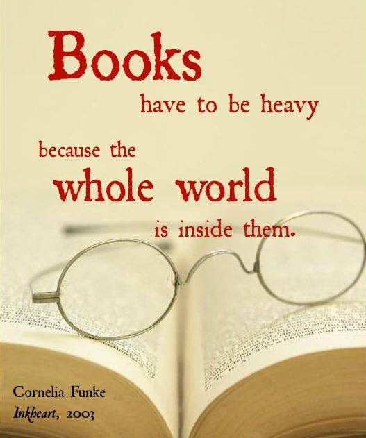 Books Have to be Heavy  Bound 4 Escape