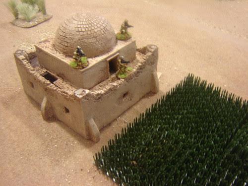Taking refuge in large tomb