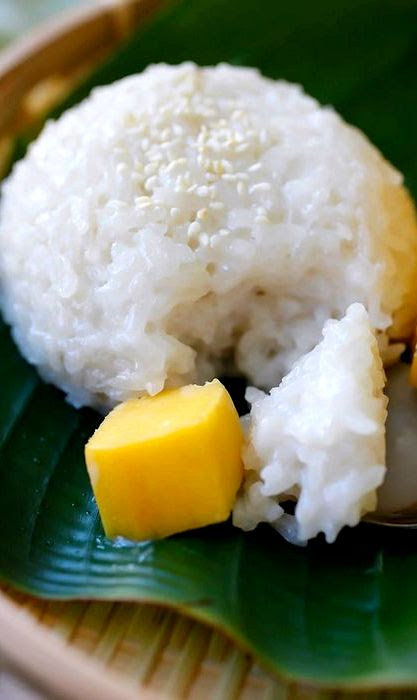 Sweet sticky rice dessert recipe