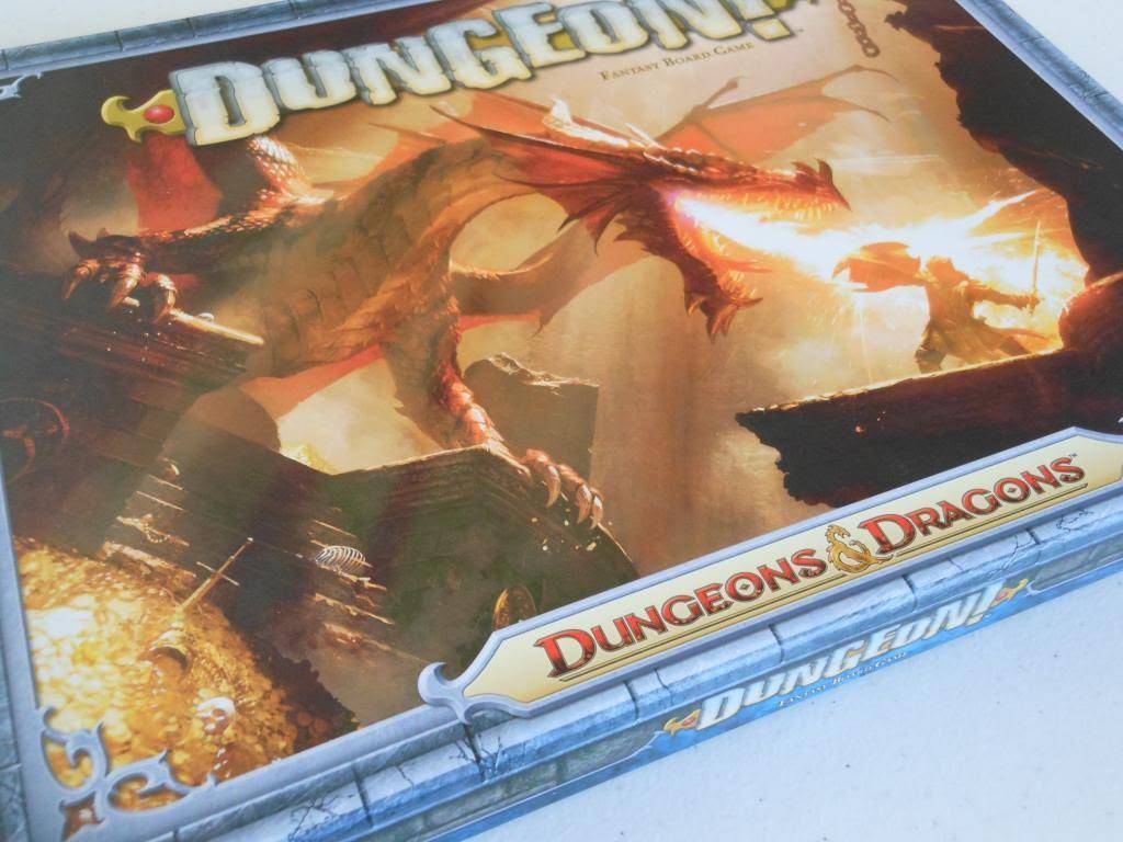 Dungeon! board game box