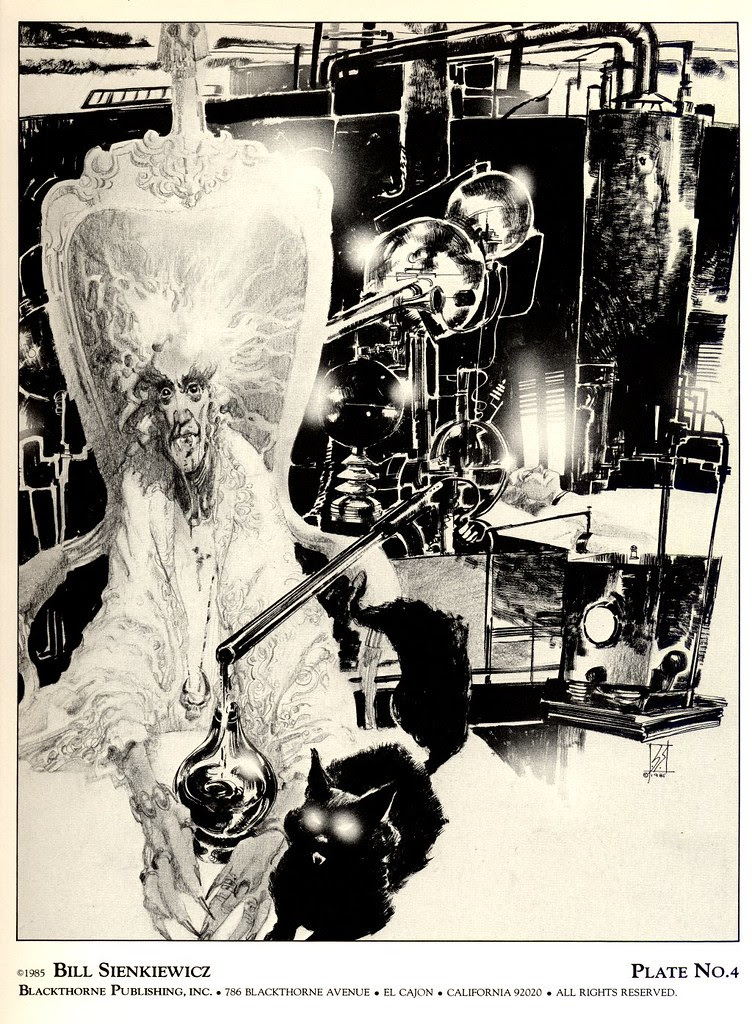 Bill Sienkiewicz - Vampyres 2 (Blackthorne Publishing, Inc 1985) Plate 4