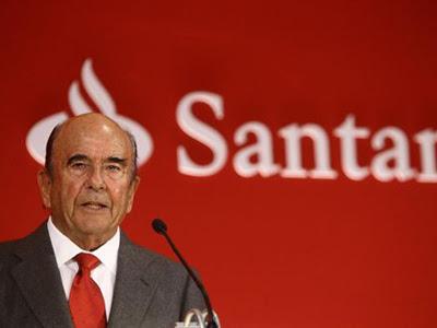 Emilio Botín, presidente del Banco Santander. EUROPA PRESS/ARCHIVO