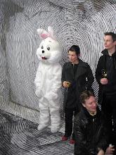 Christl Mudrak und Hase / and rabbit