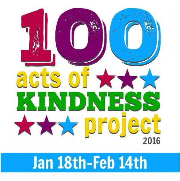 Join the 100 Acts of Kindness Challenge today!