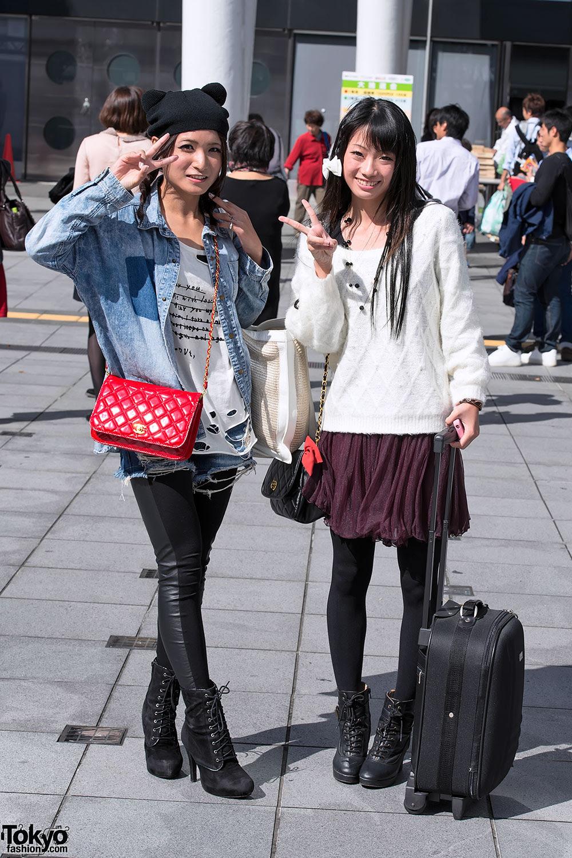 tokyo girls collection 2012 autumnwinter street snaps