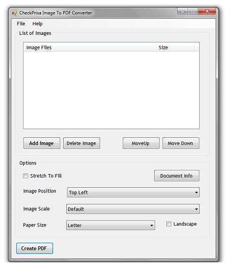Image to PDF Converter, merubah gambar ke dokumen pdf