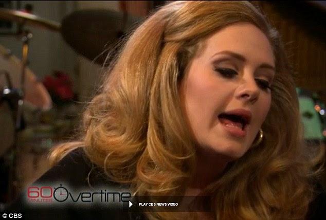Stylings vocais: cantores Adele de Rolling in the Deep vieram antes de sua performance no Grammy este fim de semana