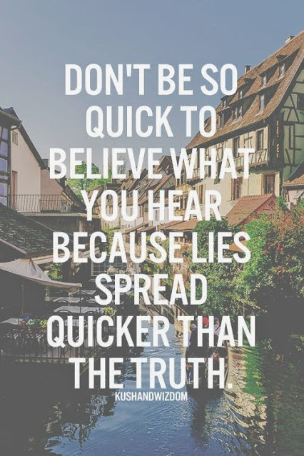 Dont Believe What You Hear Pictures Photos And Images For Facebook
