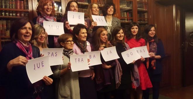 La Asociación de Mujeres Juezas de España propone un decálogo de propuestas hacia la igualdad.- AMJE