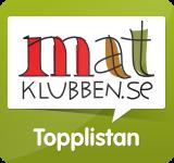 Matklubbens Topplista