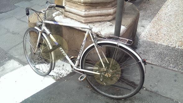 bici senza sella