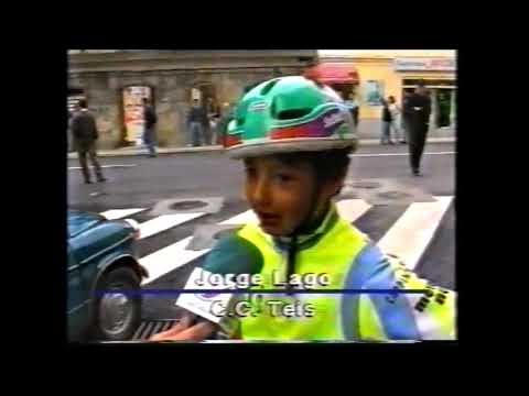 El vídeo del IV GP Ciclista Teis 1er memorial Pablo Moreiras (categorías de escuelas) 1995