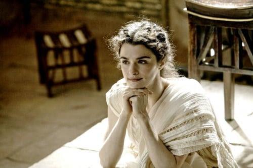 Rachel Weisz como Hipátia de Alexandria