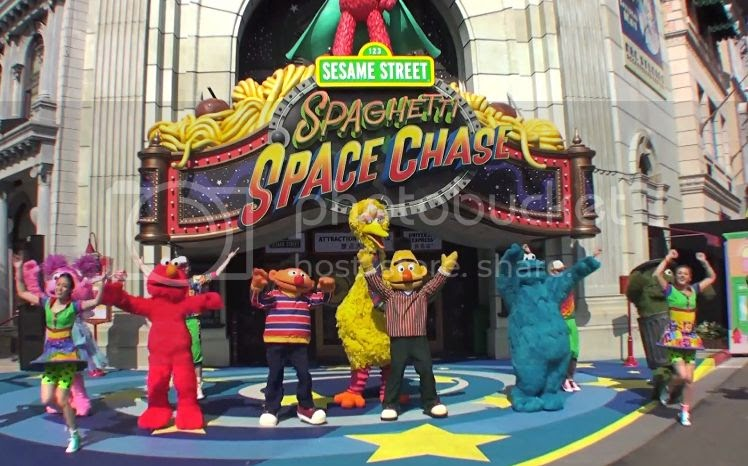 Disney and more: Sesame Street Spaghetti Space Chase Grand ...Universal Studios Singapore Sesame Street Spaghetti Space Chase