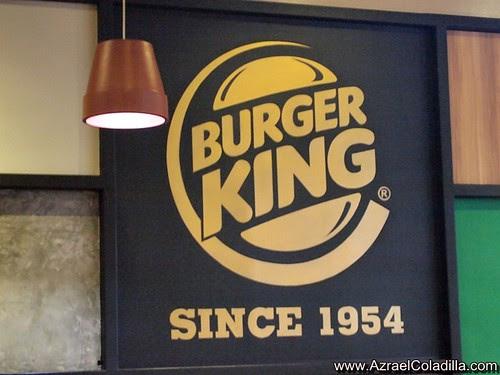 Burger King Chicken Crips Fillet Burger