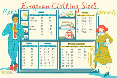 european clothing sizes  size conversions
