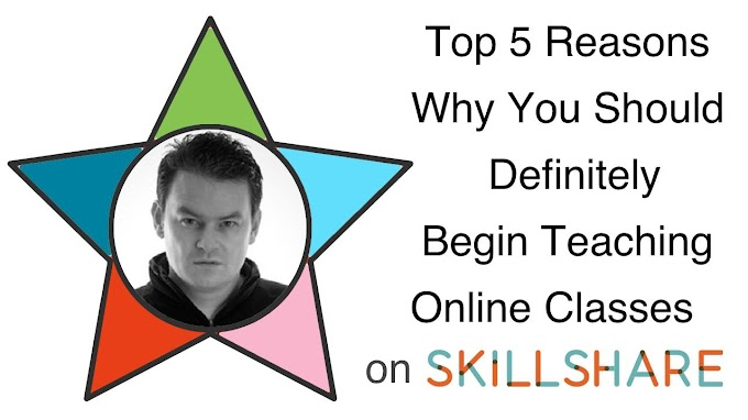 Skillshare Star #1: My Top 5 Reasons Why You Should Definitely Begin Teaching on Skillshare Today -Skillshare Free Course With Discount Code