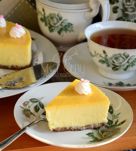 Classic Durian Cheesecake