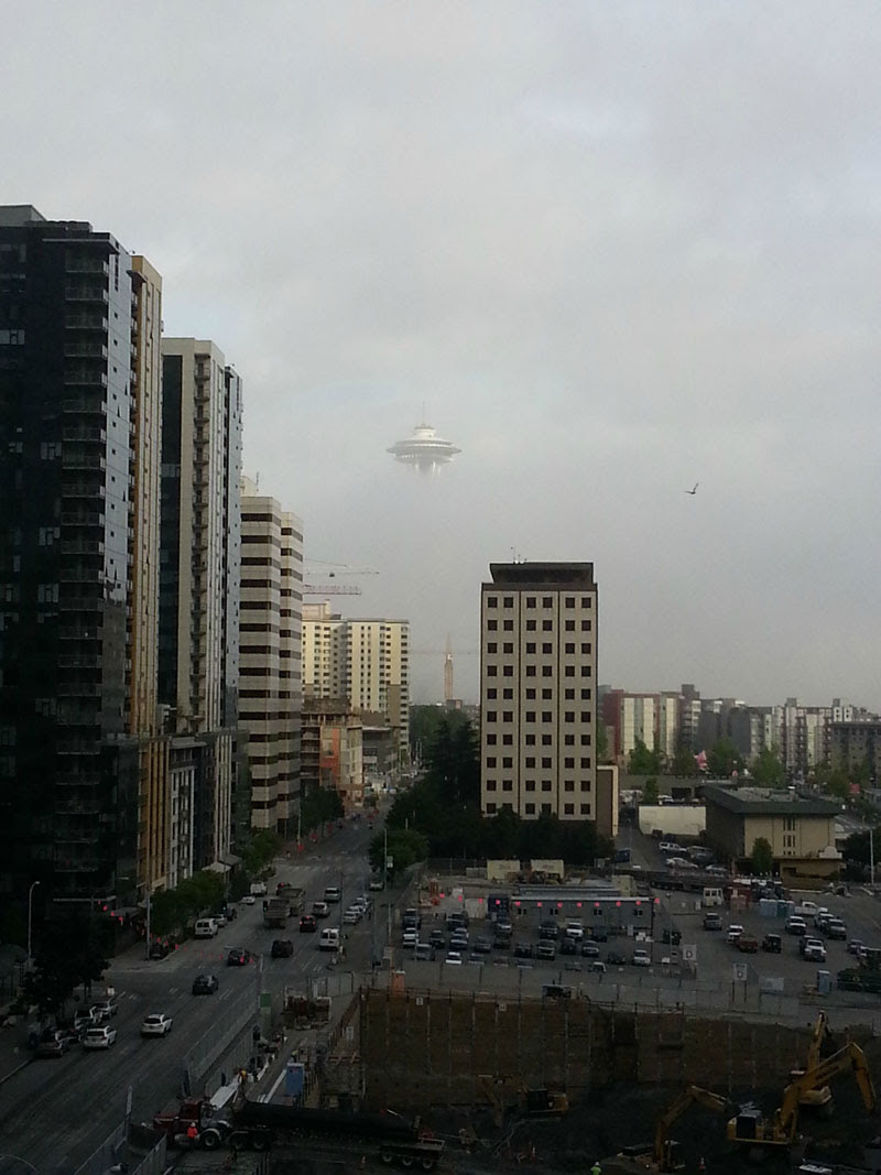 http://twistedsifter.com/2013/08/ufo-spotted-in-seattle-space-needle/