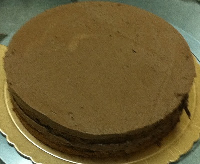 Layers Of Sponge And Layers Of Mousse