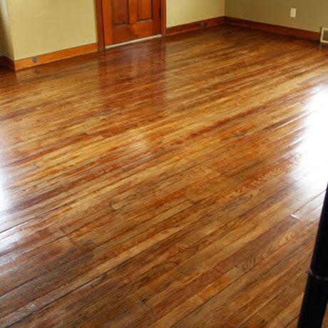 how to refinish hardwood wood floors