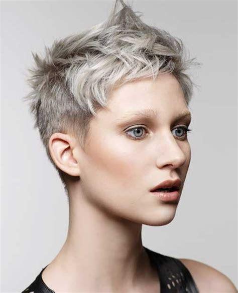 pixie haircut  gray hair pixie cut