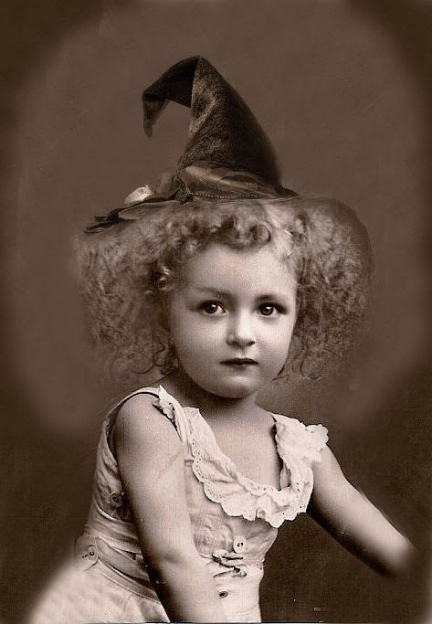 Image result for vintage happy halloween pictures