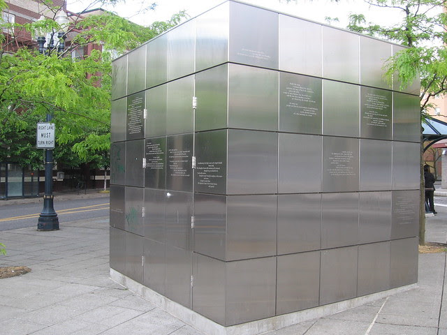 cube, civic plaza