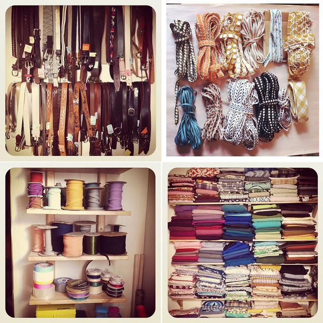 studio re-organizing