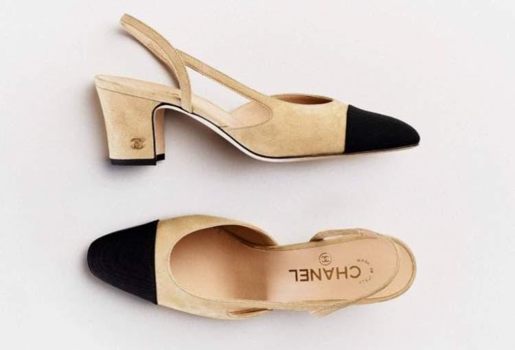 Sapato Bicolor da Chanel