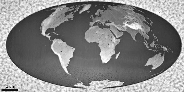 Smallest World Map Was Created with Salt !!